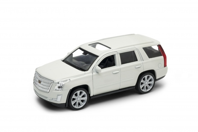 Welly - Cadillac Escalade (2017) model 1:34  bílá