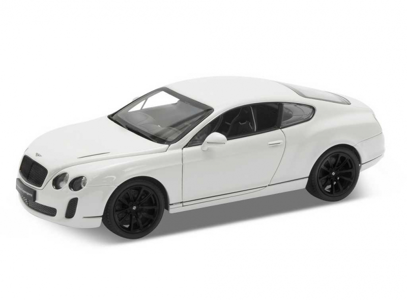 Welly - Bentley Continental Supersport 1:24 bilý
