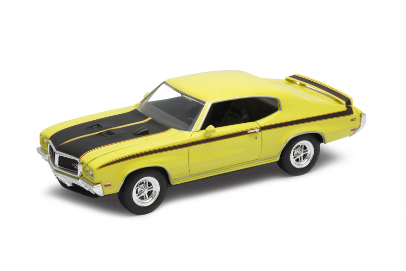 Welly - Buick GSX (1970) model 1:24 žlutý